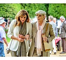 HRH Princess Michael of Kent goes walkabout at the Concours of Elegance Photographic Print