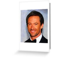 Hugh Greeting Card