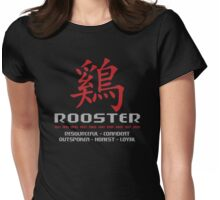 Year of The Rooster Traits Womens Fitted T-Shirt