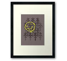221B wallpaper Framed Print