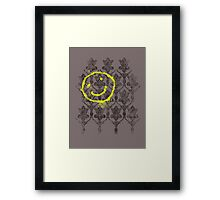 221B wallpaper Framed Print