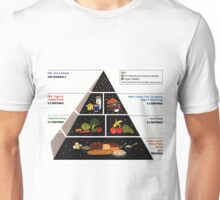 Food Pyramid  Unisex T-Shirt