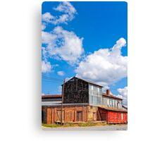 Hawkinsville Georgia - Rural Industrial Memories Canvas Print