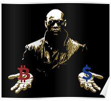 Bitcoin Morpheus meme Poster