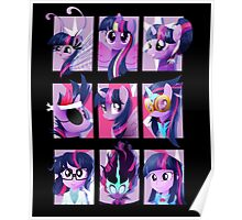Forms of Twilight Sparkle Poster