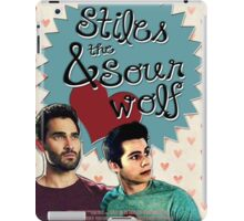 Stiles & The Sour Wolf iPad Case/Skin