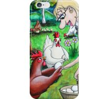 Long Live The Chickens iPhone Case/Skin