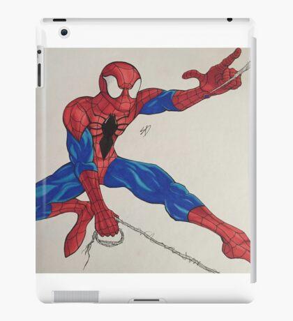 Spider-Man webslinging iPad Case/Skin