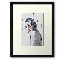 The weaver Framed Print