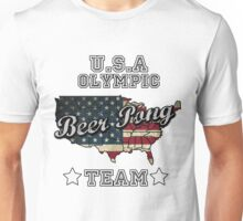 USA Olympic Beer Pong Team T-Shirt Unisex T-Shirt