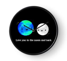 Love You to the Moon and Back Clock