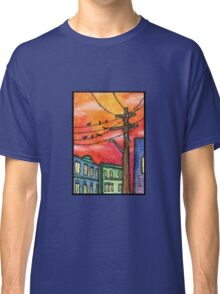 Sunset in Krakow Classic T-Shirt