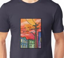 Sunset in Krakow Unisex T-Shirt