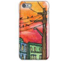 Sunset in Krakow iPhone Case/Skin
