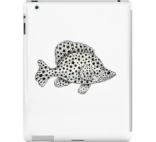 Panther grouper  iPad Case/Skin