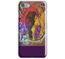 The Lady Who Loved The Moon iPhone Case/Skin