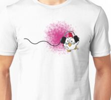 party party says dancing chicken Unisex T-Shirt