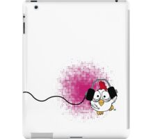 party party says dancing chicken iPad Case/Skin