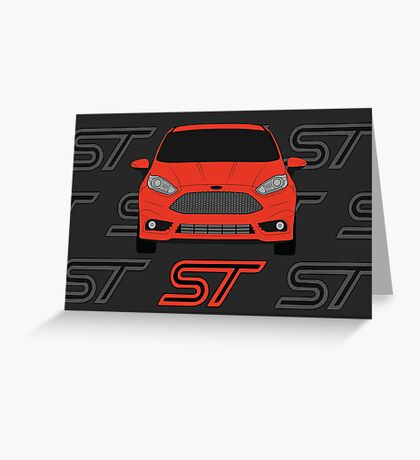 Fiesta ST Greeting Card