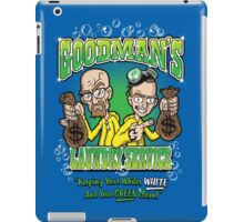 Goodman's Laundry Service iPad Case/Skin