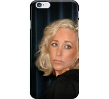 Blond Woman iPhone Case/Skin