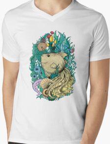 Fantasy fish Mens V-Neck T-Shirt