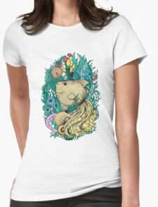 Fantasy fish Womens Fitted T-Shirt