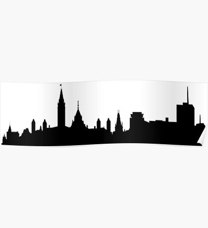 Ottawa skyline Poster