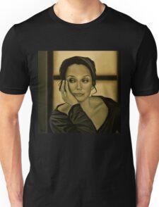 Kristin Scott Thomas Painting Unisex T-Shirt
