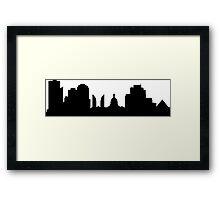 Edmonton skyline  Framed Print