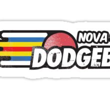 Nova Scotia Dodgeball Horizontal  Sticker