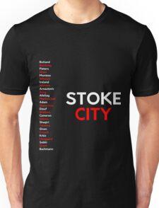 Stoke City 2016/17 squad original design Unisex T-Shirt