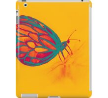 Colorful watercolor of butterfly  iPad Case/Skin