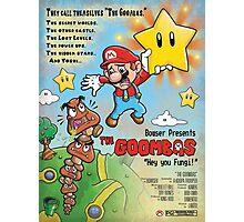 The Goombas (blue version) Photographic Print