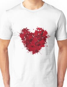 Red love Unisex T-Shirt