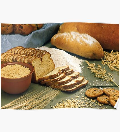 Baking Bread Poster