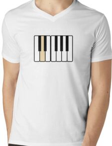 She Wants the D Piano Music Mens V-Neck T-Shirt