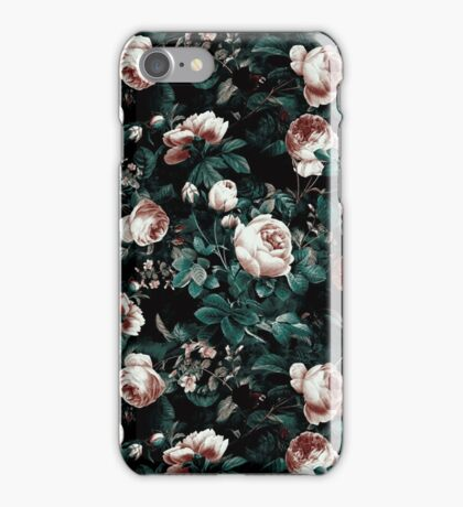 Roses Green iPhone Case/Skin
