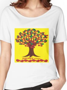 CHERRY TREE Women's Relaxed Fit T-Shirt