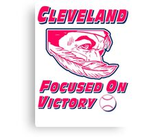 Cleveland Focused On Victory Canvas Print