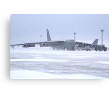 Snow 'birds' B-52s Canvas Print