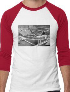Bath Time Men's Baseball ¾ T-Shirt