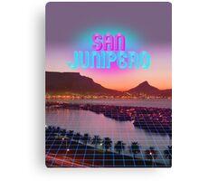 San Junipero - Black Mirror Canvas Print