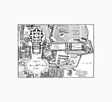 Vintage Map of The Vatican (1914) T-Shirt