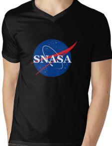 SNASA Mens V-Neck T-Shirt