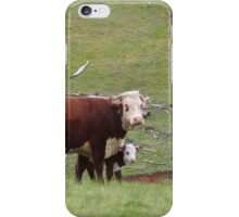 Cow and Calf iPhone Case/Skin