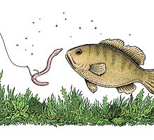 Fishing by Eugenia Hauss