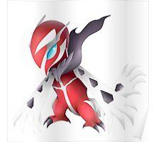 Shiny Yveltal Pokemon Poster
