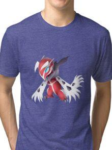 Shiny Yveltal Pokemon Tri-blend T-Shirt