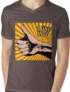I Loke That Mens V-Neck T-Shirt